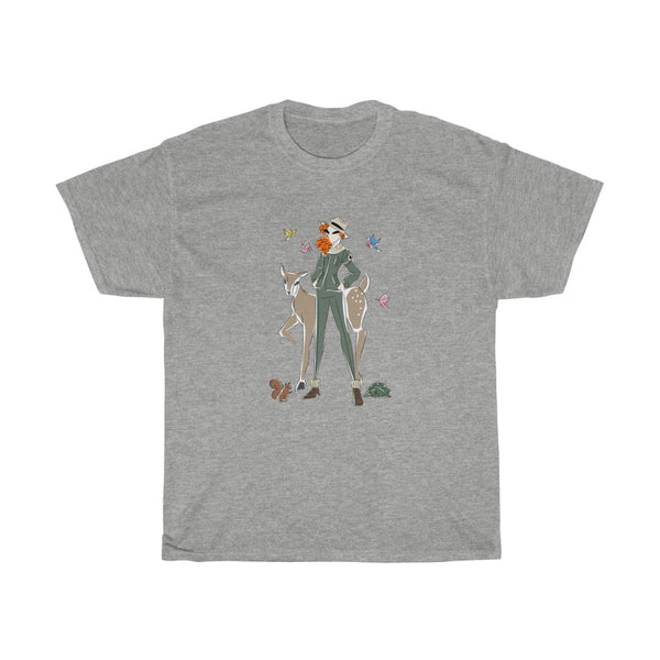 Unisex Basic Cotton Tee (Asst Colors) - Yes I can, Ranger