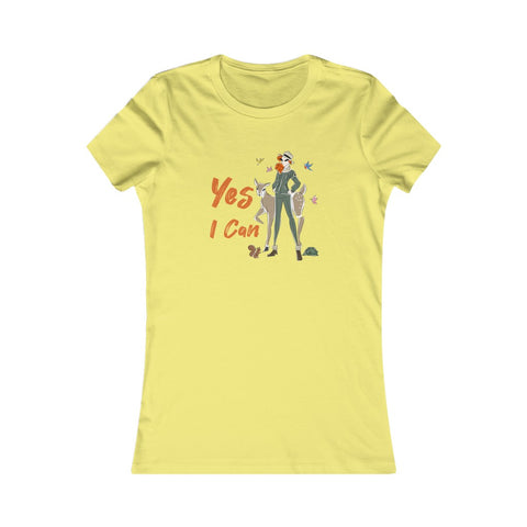 Slim Fit Tee (Asst Colors)- Yes I Can, Ranger