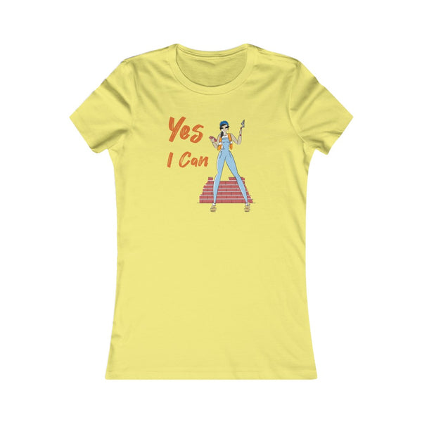Slim Fit Tee (Asst Colors)- Yes I Can, Mason