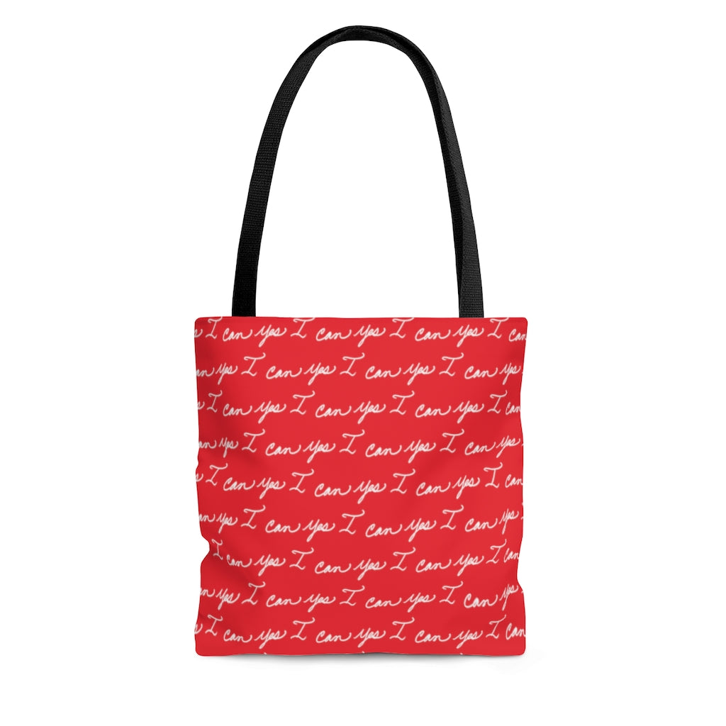 Tote Bag - Yes I can, Red