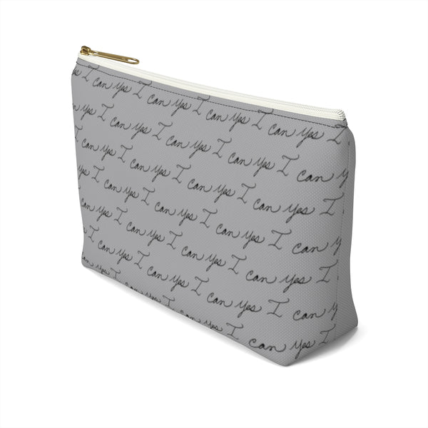 Accessory Pouch w T-bottom - Yes I Can, Ironworker