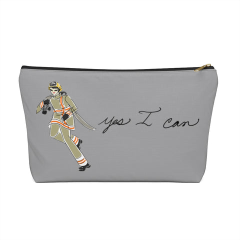 Accessory Pouch w T-bottom - Yes I Can, Firefighter