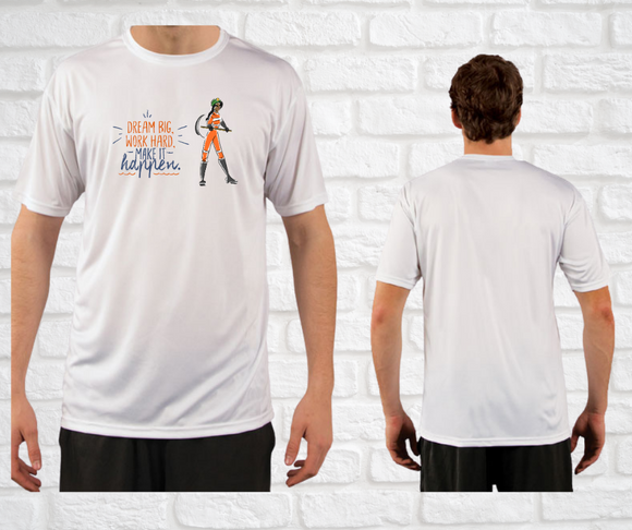 Yes I Can Be a Miner Basic Fit T-Shirt