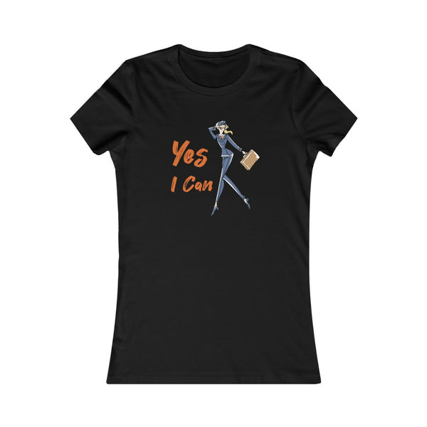 Slim Fit Tee (Asst Colors)- Yes I Can, Airline Pilot