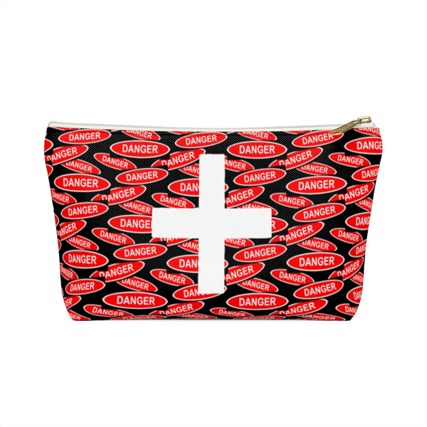 First Aid Accessory Pouch w T-bottom - DANGER