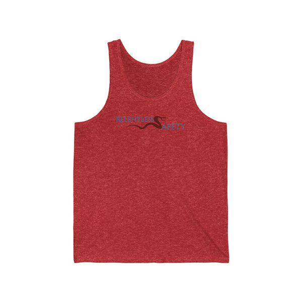 Men's Jersey Tank - Safety Justice League, Relentless Safety