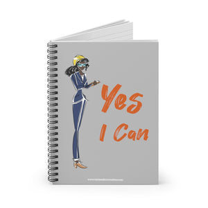Spiral Notebook, Ruled Line - Yes I Can, Engineer