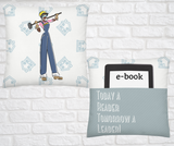 Pocket Throw Pillow-Yes I Can be...