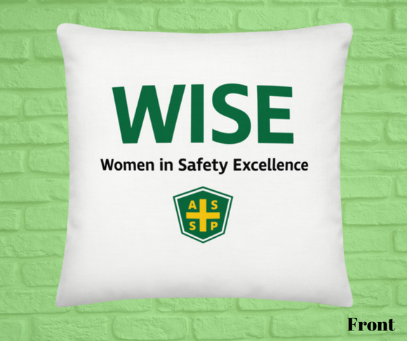 Pocket Throw Pillow-WISE