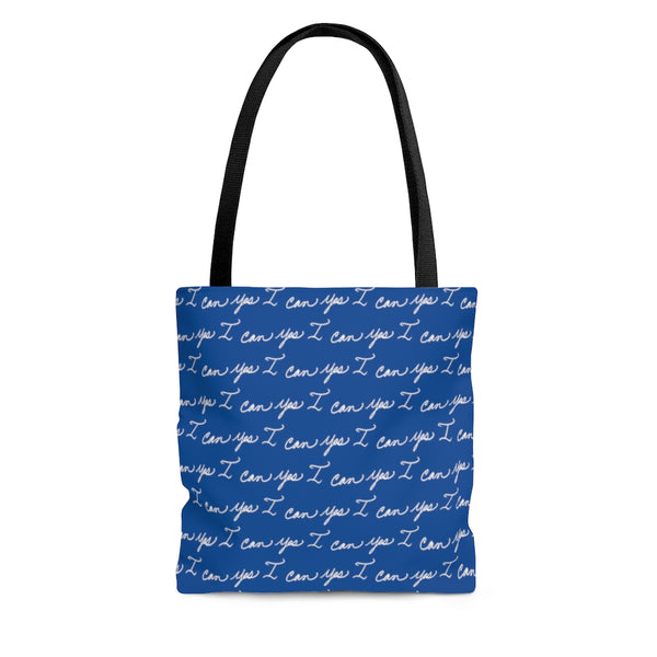 Tote Bag - Yes I can, Blue