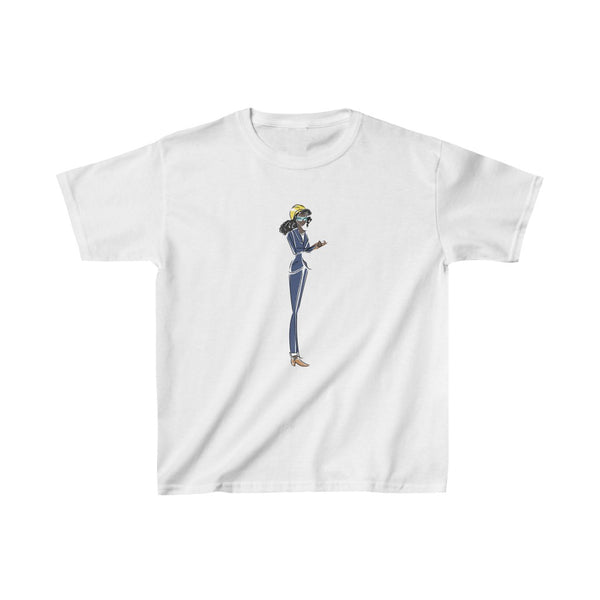 Kids Heavy Cotton™ Tee, Yes I Can, Engineer