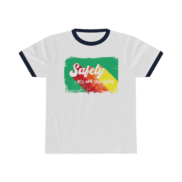 Unisex Ringer Tee (Asst Colors) - Retro Safety