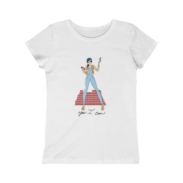 Kids Princess Tee (Asst Colors) - Yes I can, Mason