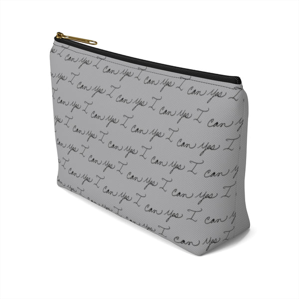 Accessory Pouch w T-bottom - Yes I Can, Airline Pilot