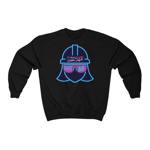 Heavy Blend™ Crewneck Sweatshirt - Safety Justice League, Safety Abby