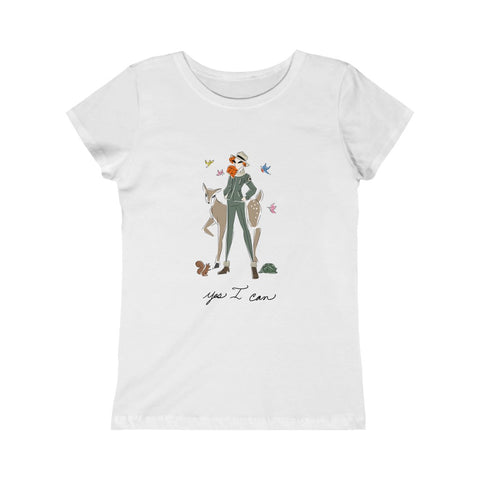 Kids Princess Tee (Asst Colors) - Yes I can, Ranger
