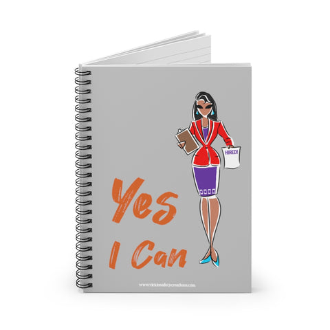 Spiral Notebook, Ruled Line - Yes I Can, Human Resources