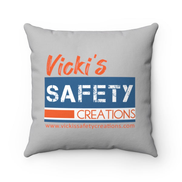 Spun Polyester Square Pillow, Asst. Sizes - Vicki's Safety Creations