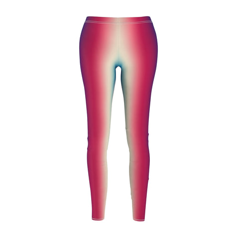 Women's Casual Leggings - RWB Ombre