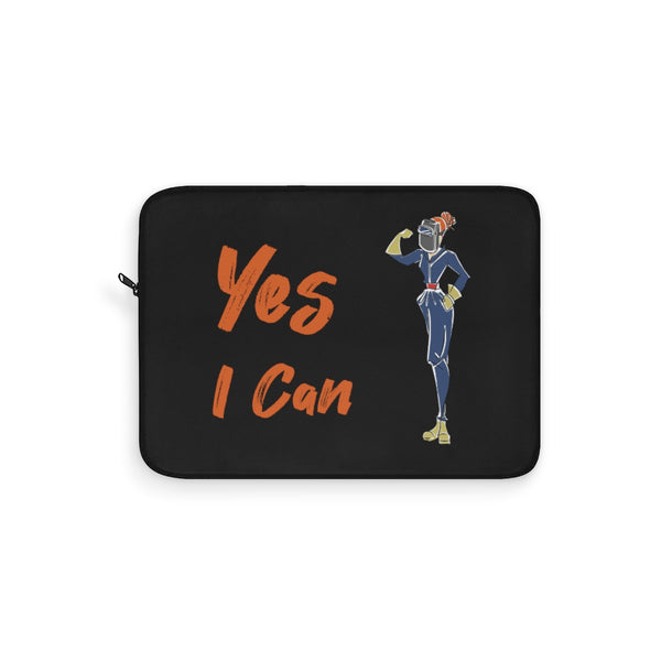 Laptop Sleeve - Yes I Can, Welder