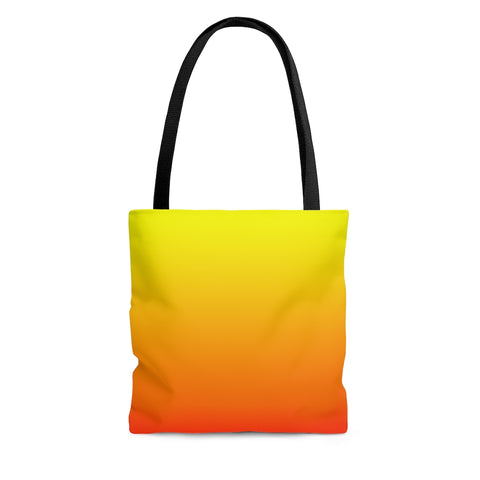 Tote Bag - Fire Ombre