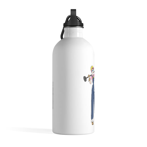 Stainless Steel Water Bottle - Yes I can, Construction