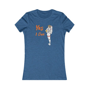 Slim Fit Tee (Asst Colors)- Yes I Can, Astronaut
