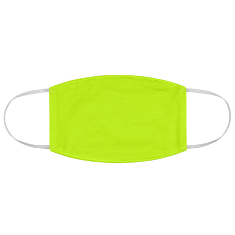 Fabric Face Mask - Safety Green