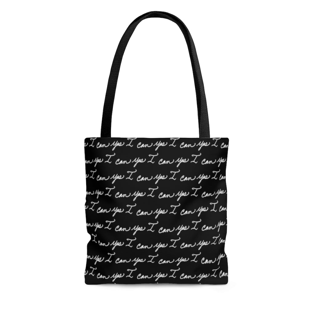 Tote Bag - Yes I can, Black