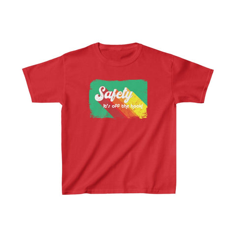 Kids Heavy Cotton™ Tee (Asst Colors) - Retro Safety