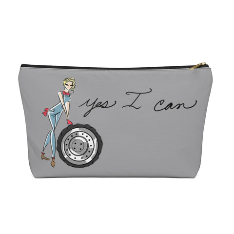 Accessory Pouch w T-bottom - Yes I Can, Mechanic
