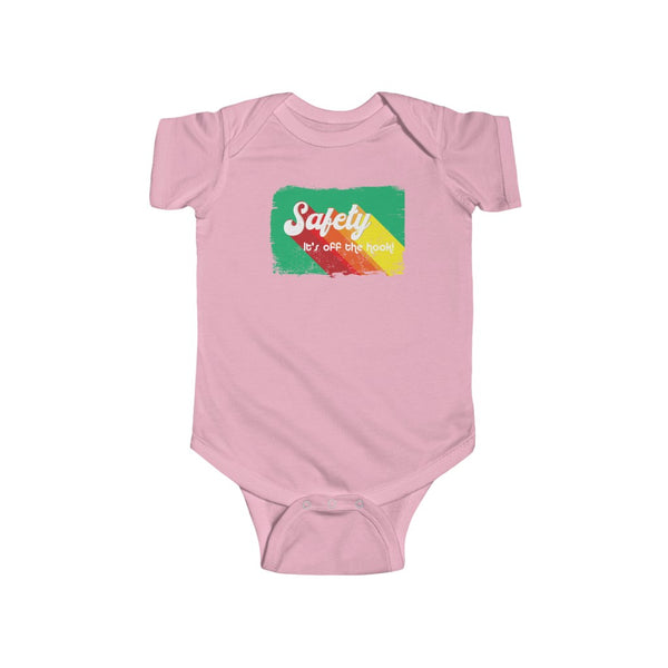 Infant Fine Jersey Bodysuit (NB-24M) (Asst Colors) - Retro Safety