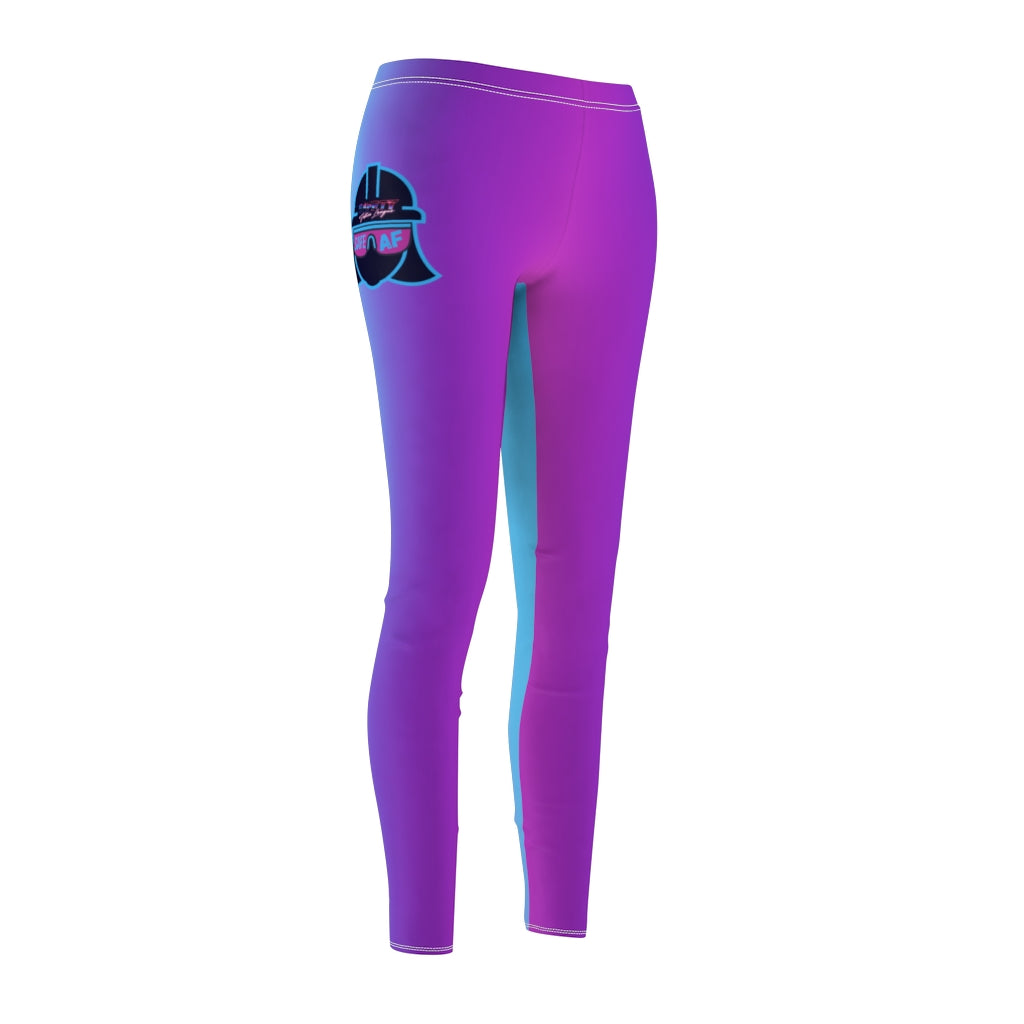 Women's Casual Leggings - Safety Justice League, Safety Abby Ombre
