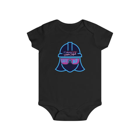 Infant bodysuit - Safety Justice League, Safety Abby