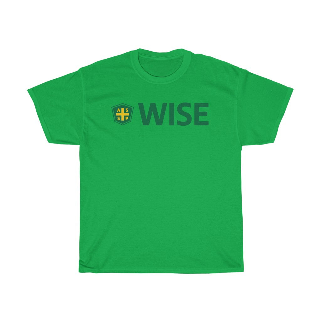 Unisex Basic Cotton Tee (Asst Colors) - WISE