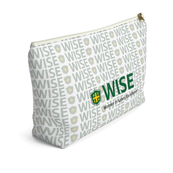 Accessory Pouch w T-bottom, Patterned - WISE