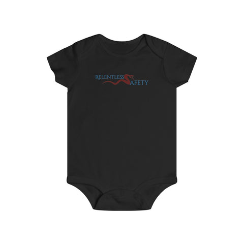 Infant bodysuit - Safety Justice League, Relentless Safety