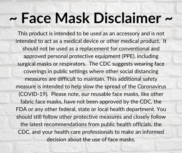 Triple Layer Face Masks - Rock the Red 2021, Asst. Designs