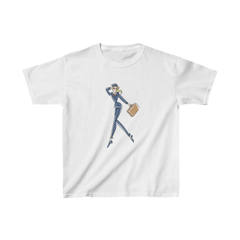 Kids Heavy Cotton™ Tee, Yes I Can, Airline Pilot