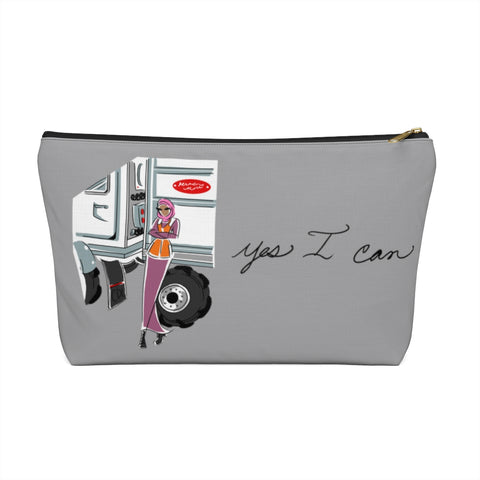 Accessory Pouch w T-bottom - Yes I Can, CDL Driver