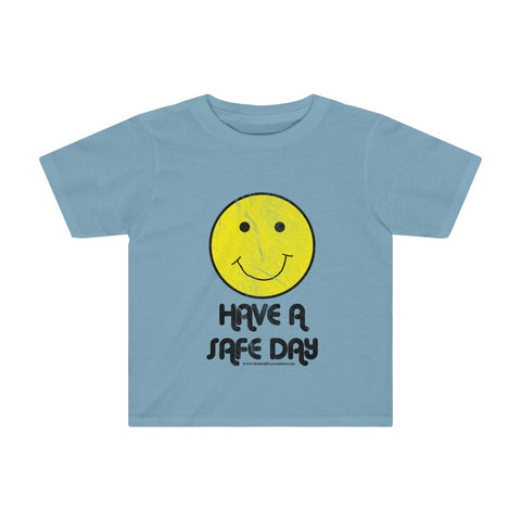 Toddler Tee (Asst Colors) - Retro Happy Face