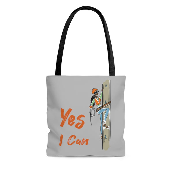 Tote Bag - Yes I can, Utility Worker