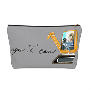 Accessory Pouch w T-bottom - Yes I Can, Heavy Equipment Operator