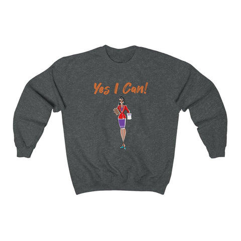Heavy Blend™ Crewneck Sweatshirt (Asst Colors) - Yes We Can, Human Resources