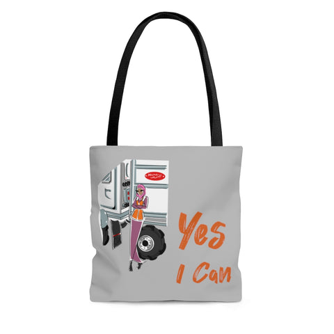 Tote Bag - Yes I can, CDL Driver