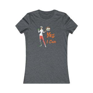 Slim Fit Tee (Asst Colors)- Yes I Can, Chef