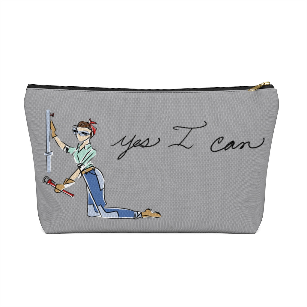 Accessory Pouch w T-bottom - Yes I Can, Plumber