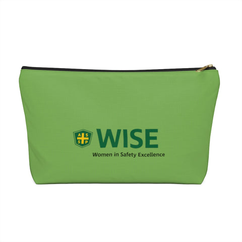 Accessory Pouch w T-bottom, Green - WISE