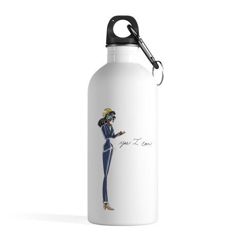 Stainless Steel Water Bottle - Yes I can, Engineer
