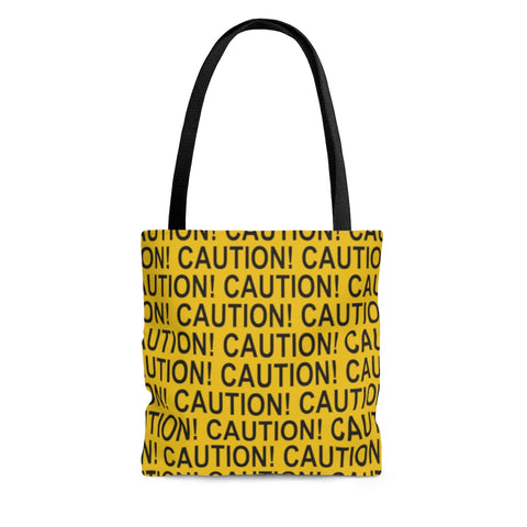 Tote Bag - Caution Tape